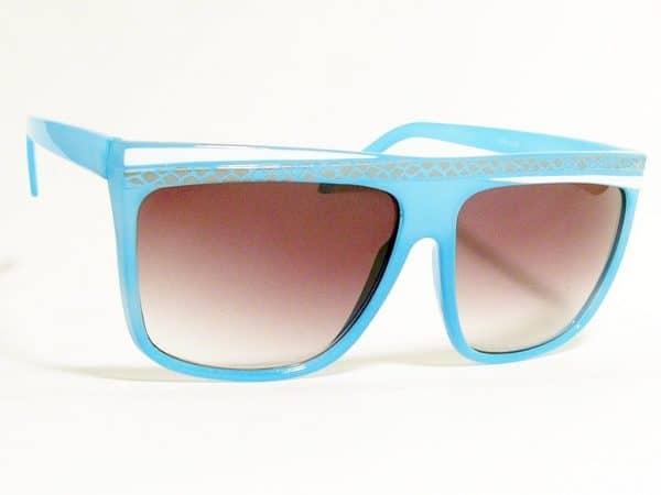 Retro Stripes (blå) - Retro solbrille