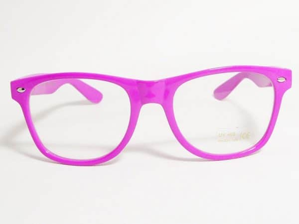 Wayfarer Clear (lilla) - Wayfarer solbrille
