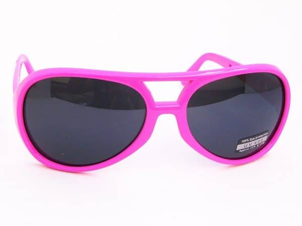 Elvis Colour (rosa) - Retro solbrille