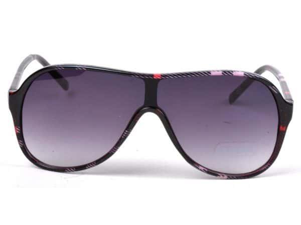Aviator Plaid (rød) - Aviator solbrille