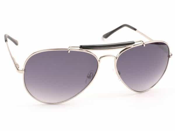Pilot Colour Mirror (hvit) - Pilot solbrille