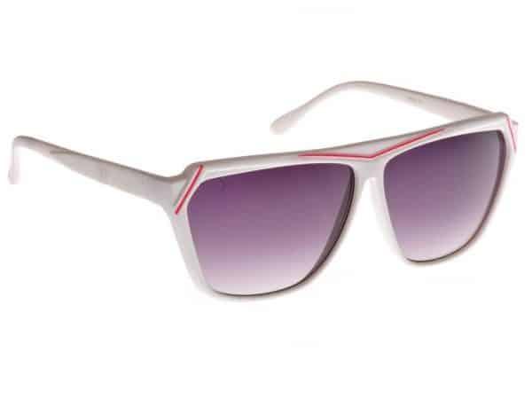 Retro Wild (blank/hvit) - Retro solbrille