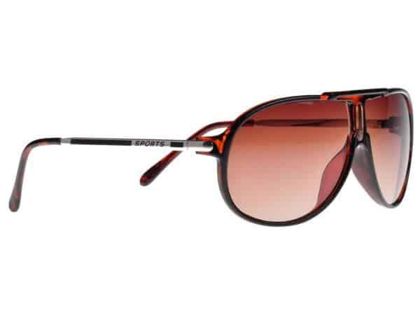 Aviator Sport (brun) - Aviator solbrille