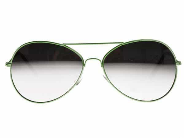 Pilot Silver Mirror (grønn) - Pilot solbrille