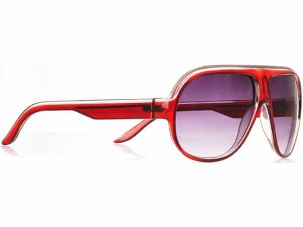 Aviator Glow (rød) - Aviator solbrille