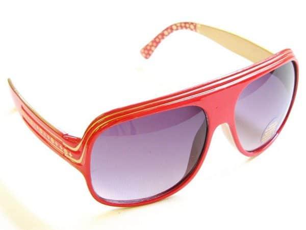 Billionaire Stars (rød) - Vintage solbrille