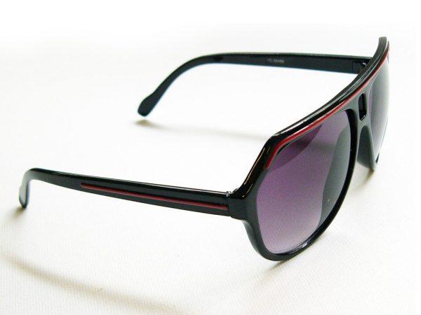 Vintage solbrille svart/rød Vintage solbrille