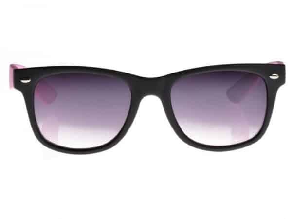 Wayfarer Tofarget (svart/rosa) - Wayfarer solbrille