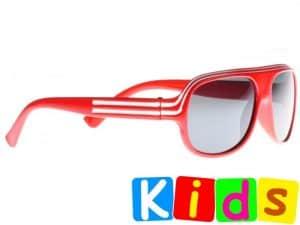 Billionaire Junior (rød) - Solbriller til barn