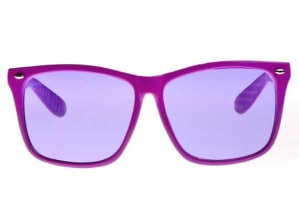 Wayfarer Oversized (lilla) - Wayfarer solbrille