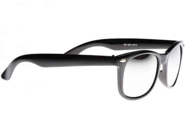Wayfarer Mirror (svart) - Wayfarer solbrille