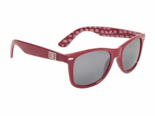 DE Wayfarer Classic (rød) - Wayfarer solbrille