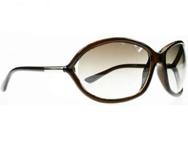 Milano Oval (brun) - Fashion solbrille