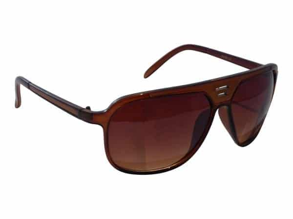 Aviator Sport (svart/brun) - Retro solbrille