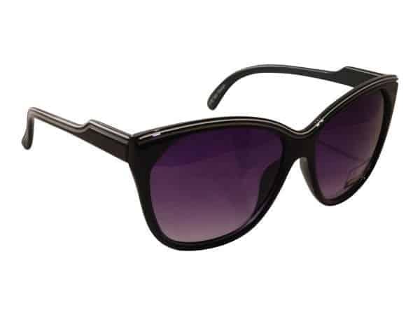 Bygone Fashion (svart) - Retro solbrille